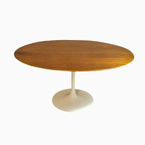 table basse vintage noire tulip par eero saarinen pour knoll international en vente sur pamono. Black Bedroom Furniture Sets. Home Design Ideas