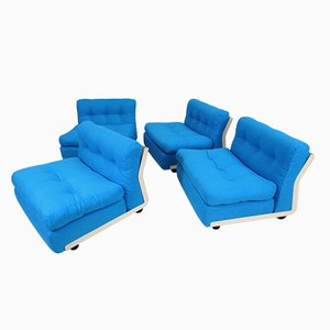 Modulares Amanta 4-Sitzer Sofa von Mario Bellini für C&B Italia, 1973