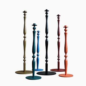 The Legs Kerzenständer von Joyce Veul für Het Tafelbureau, 6er Set