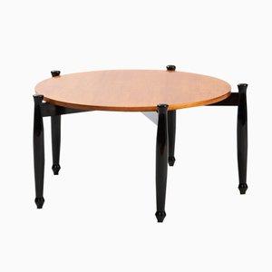 Italienischer Moderner Couchtisch mit Ebonisierten Tischbeinen