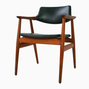 Teak Armchair by Erik Kirkegaard for Glostrup, 1960s