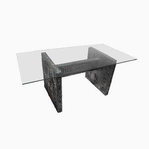 Table de Salle à Manger Brutaliste par Adrian Pearsall pour Craft Associates