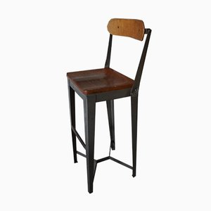 English Factory High Chair, 1950s