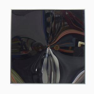 Gewölbter Modell KX 77 Wandspiegel von Victor Bonato, 1984