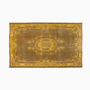 Türkischer Teppich in Gelb