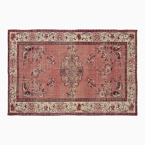 Vintage Red Turkish Rug