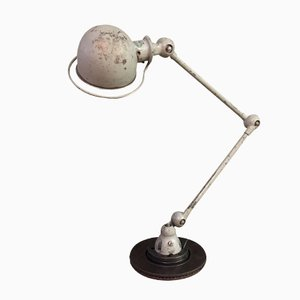Vintage Industrial Adjustable Table Lamp by Jean-Louis Domecq for Jieldé