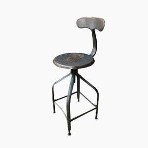 Chaise d'Atelier Vintage Industrielle de Chaises Nicolle