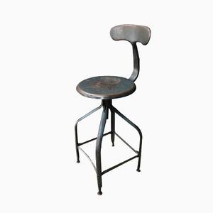 Vintage Industrial Workshop Chair from Chaises Nicolle