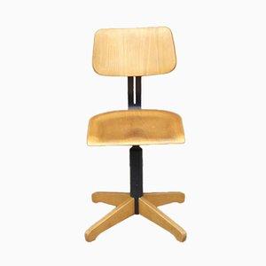 Vintage Industrial Adjustable Office Chair