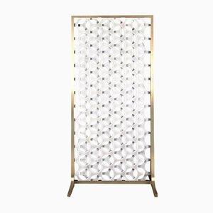 Large Moiré Screen by Paolo Ulian for Bufalini Marmi