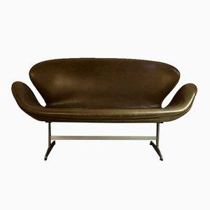 Vintage Modell 3321 Sofa von Arne Jacobsen für Fritz Hansen
