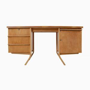 Wooden Desk by Cees Braakman for Pastoe