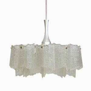 Mid Century Hanging Lamp by J. T. Kalmar, 1970s