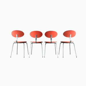 Dining Chairs by Rudi Verelst for Novalux, 1970, Set of 4