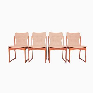 Dining Chairs by Vamdrup Stolefabrik, 1960s, Set of 4
