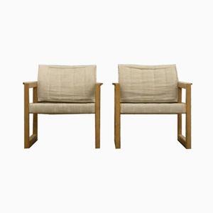 Modell Diana Architektonischer Armlehnstuhl von Karin Mobring für IKEA, 1972