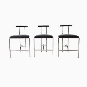Tokyo Chairs Bieffeplast by Rodney Kinsman for Padova Italy, 1985, Set of 3