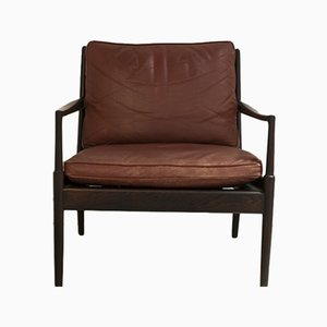 Swedish Armchair by Ib Kofod Larsen for OPE, 1960s
