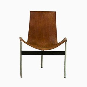 Amerikanische T Stühle Modell 3LC von Douglas Kelly, Ross Littell und William Katavolos für Laverne International, 1952, 4er Set