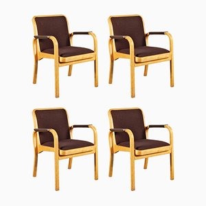 Armchairs by Alvar Aalto for Artek, 1960s, Set of 4