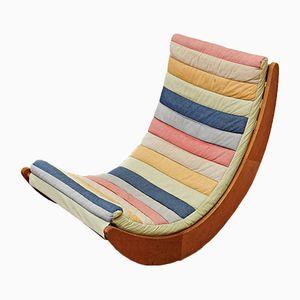 Dänischer Relaxer Sessel von Verner Panton für Rosenthal, 1970er
