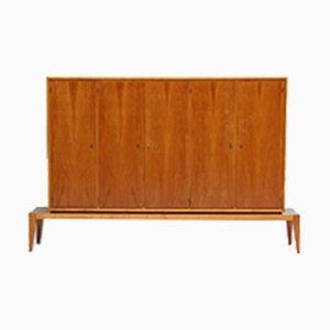 Vintage Walnut & Brass Cabinet