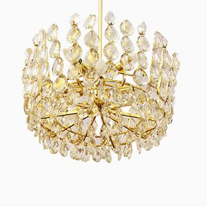 Austrian Cut Crystal Chandelier from Bakalowits & Söhne, 1960s