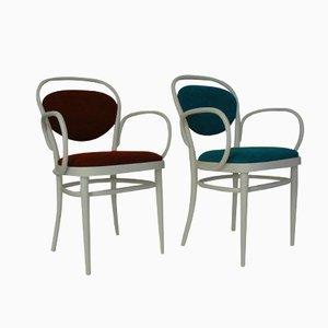 Modell 215 P Stühle von Michael Thonet für Thonet, 2er Set