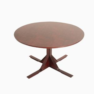 Round Dining Table by Gianfranco Frattini for Bernini, 1960s