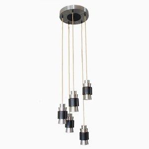 Vintage Scandinavian Aluminium Pendant Lamp by Fog and Mørup