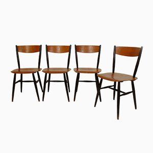 Fanett Chairs von Ilmari Tapiovaara für Edsby, 1958, 4er Set