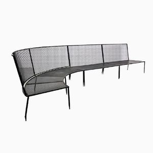Metal Bench by Mathieu Mategot, 1950s