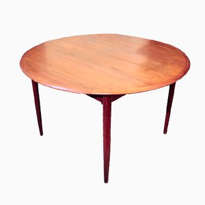 Danish Oval Dining Table, 1960s
