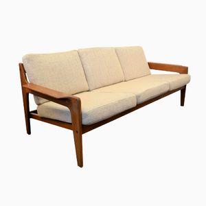 Dänisches Vintage Sofa Mit Teakholzrahmen Von Arne Wahl Iversen Für Komfort