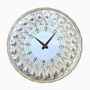 Crystal Wall Clock for Joska, 1960s