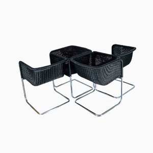 D43 Bauhaus Style Cantilever Chairs by Tecta, Set of 4