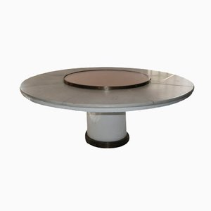Large Bronze & Metal Table by Cecchi for Studio Most