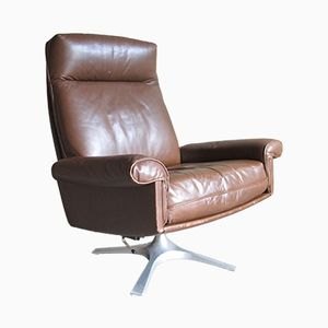 DS31 Vintage Highback Swivel Lounge Chair from De Sede, 1970s