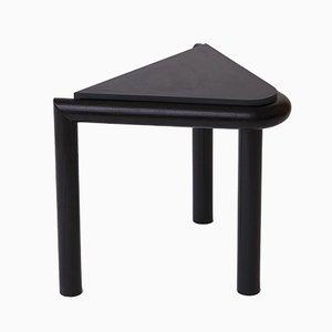 Black Troika Stool or Side Table by Vonnegut / Kraft