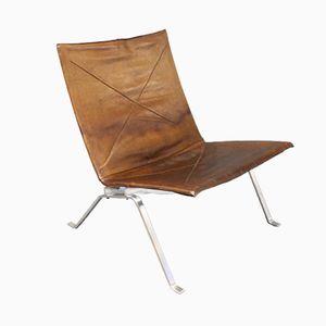 Modell PK22 Easy Chair von Poul Kjærholm für E. Kold Christensen, 1960er