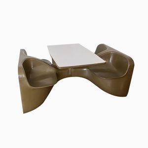 Unibloc IV Tisch von Roger Landault für Steiner, 1972