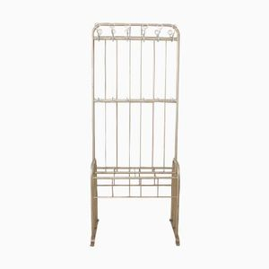 French Art Deco Industrial Coat Rack from JAS