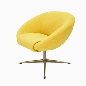 Gelber Lounge Stuhl, 1970er