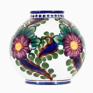 Danish Ceramic Ball Vase by Harald Slott-Moeller, 1905