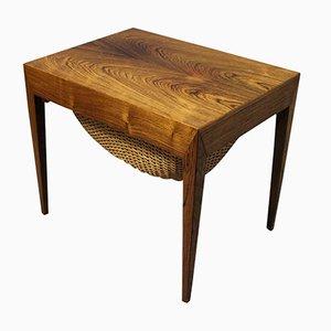 Tavolo da cucito piccolo di Severin Hansen per Haslev, anni '60