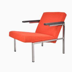 Roter Polster Armlehnstuhl von Martin Visser für 't Spectrum, 1960er