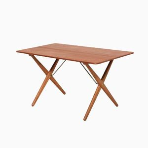 AT308 Cross Legged Coffee Table by Hans J. Wegner for Andreas Tuck