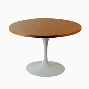 Tulip Base Lazy Susan Coffee Table by Eero Saarinen for Knoll
