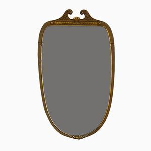 Italian Vintage Mirror with Wooden Frame